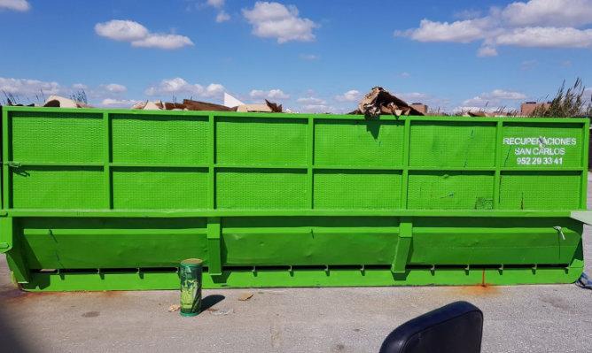 Gestor de residuos no peligrosos
