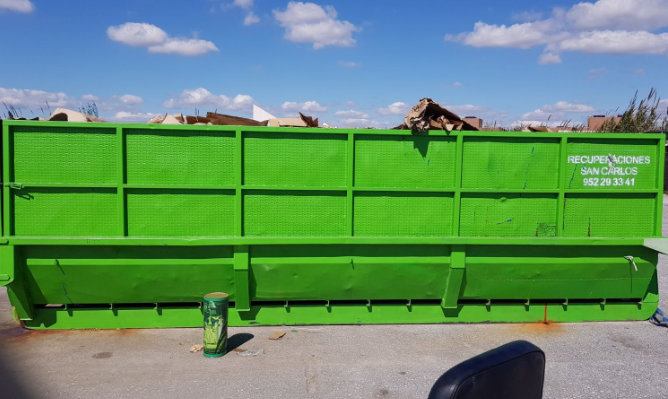 Tratamiento de residuos no peligrosos Málaga